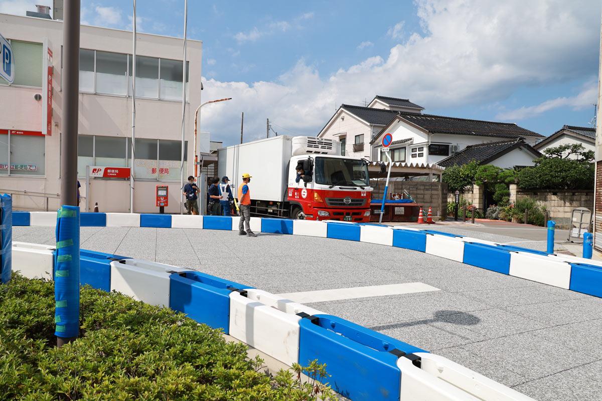 写真:A1市街地グランプリGOTSU2020の江津市街地コース